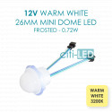 Cabochon LED Cool White E10
