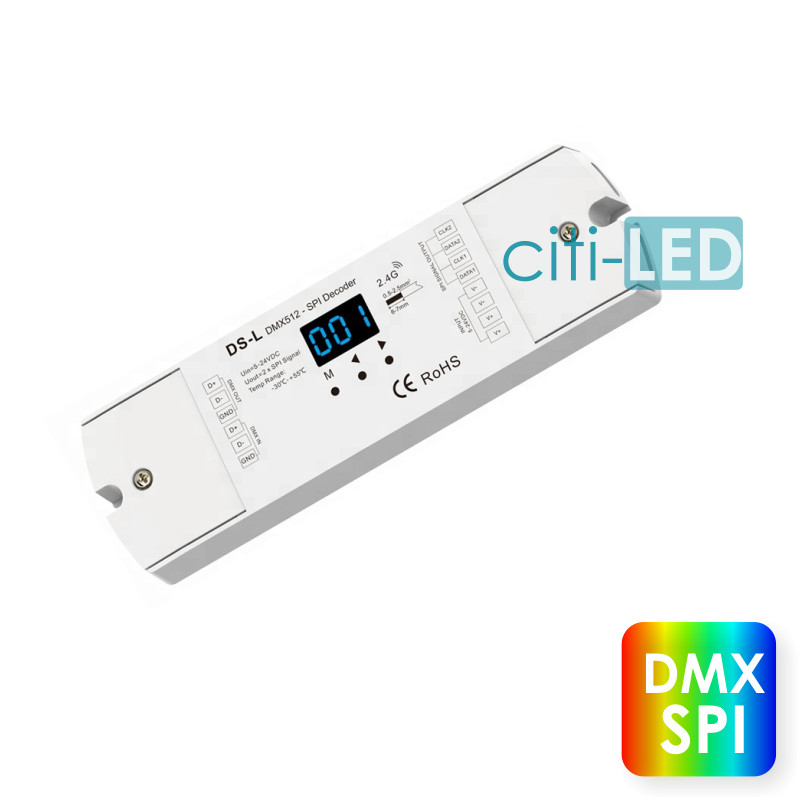 Wall Mounted Single ChanneL LED Dimmer Remote